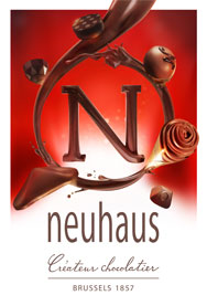 Neuhaus Chocolatier - the inventor of praline chocolates